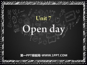 《Open day》PPT�n件