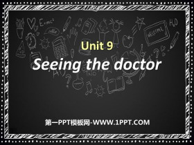 《Seeing the doctor》PPT�n件