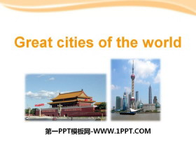 《Great cities of the world》PPT