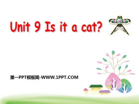 《Is it a cat》PPT