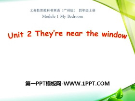 《They're near the window》PPT课件