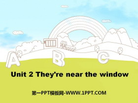 《They're near the window》PPT下载