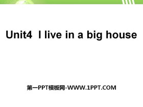 《I live in a big house》PPT