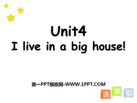 《I live in a big house》PPT课件