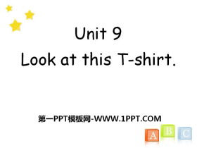 《Look at this T-shirt》PPT