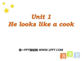 《He looks like a cook?》PPT课件