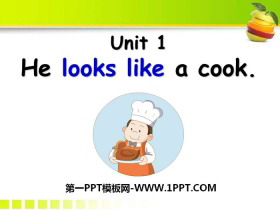 《He looks like a cook?》PPT下载