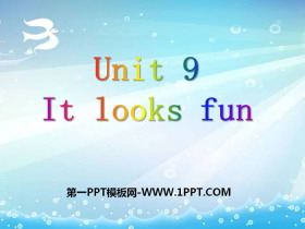 《It looks fun》PPT�n件