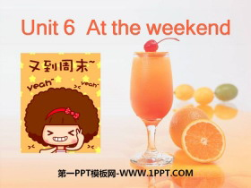 《At the weekend》PPT课件