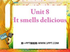 《It smells delicious》PPT课件