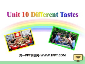 《Different tastes》PPT