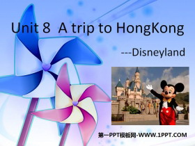 《A trip to Hong Kong》PPT