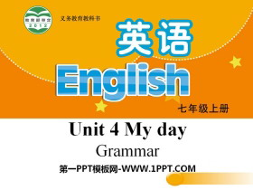 《My day》GrammarPPT