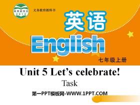 《Let's celebrate》TaskPPT