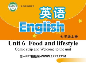 《Food and lifestylee》PPT