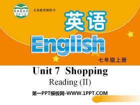 《Shopping》ReadingPPT�n件