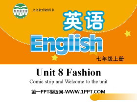 《Fashion》PPT