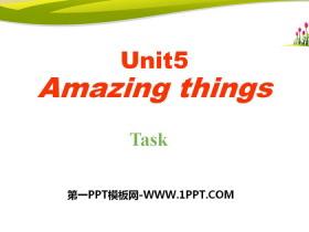 《Amazing things》TaskPPT