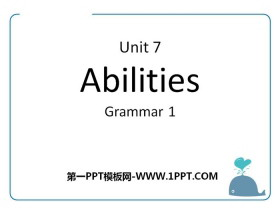 《Abilities》GrammarPPT
