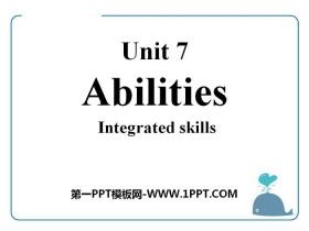 《Abilities》Integrated skillsPPT