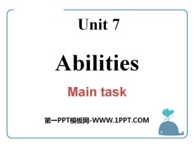《Abilities》Main taskPPT