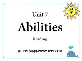 《Abilities》ReadingPPT