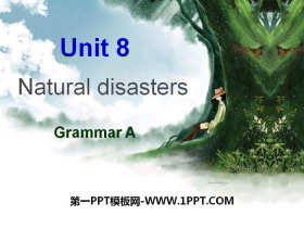 《Natural disasters》GrammarPPT