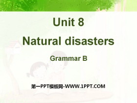 《Natural disasters》GrammarPPT�n件