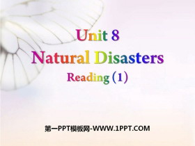 《Natural disasters》ReadingPPT