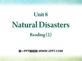 《Natural disasters》ReadingPPT课件