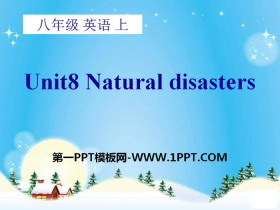 《Natural disasters》PPT