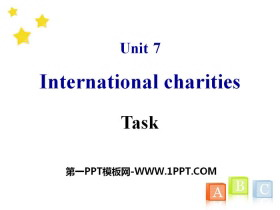 《Intemational charities》TaskPPT