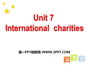 《Intemational charities》PPT