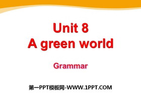 《A green World》GrammarPPT