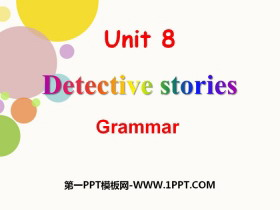 《Detective stories》GrammarPPT