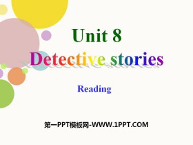 《Detective stories》ReadingPPT