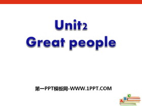 《Great people》PPT
