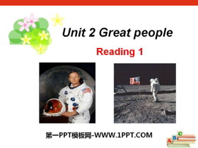《Great people》ReadingPPT