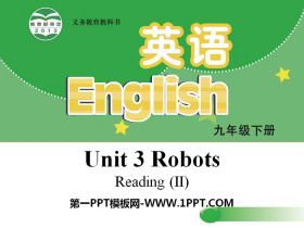 《Robots》ReadingPPT课件