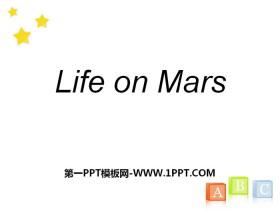 《Life on Mars》PPT
