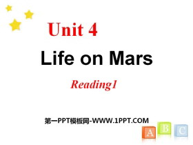 《Life on Mars》ReadingPPT