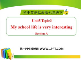 《My school life is very interesting》SectionA PPT