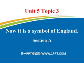 《Now it is a symbol of England》SectionA PPT