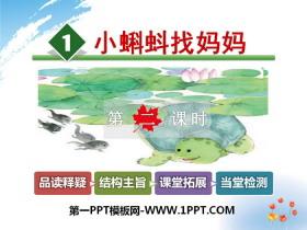 《小蝌蚪找妈妈》PPT下载