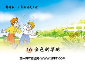 《金色的草地》PPT