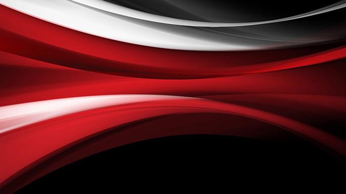 红色抽象线条PPT背景图片