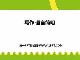《语言简明》PPT课件