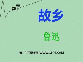 《故乡》PPT教学课件