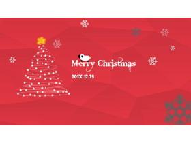 欧美圣诞节购物消防数据分析PPT