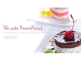 精美甜点美食PPT模板